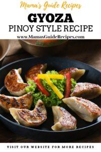 Gyoza Recipe Pinoy Style