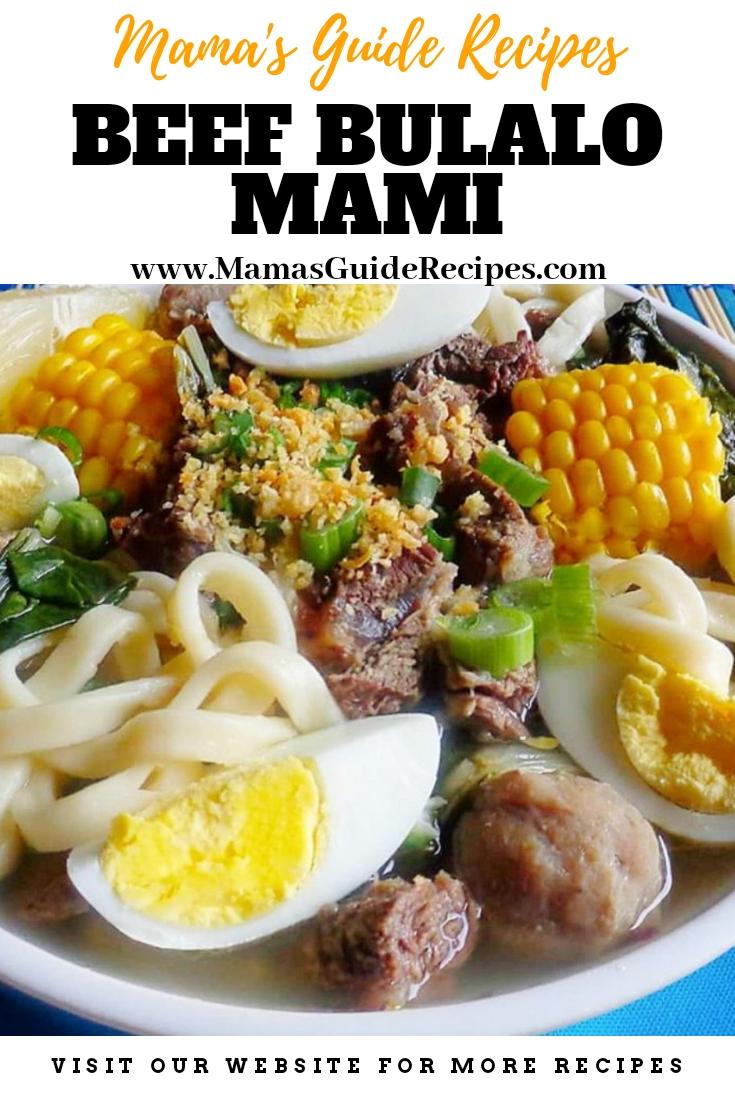 Beef Bulalo Mami