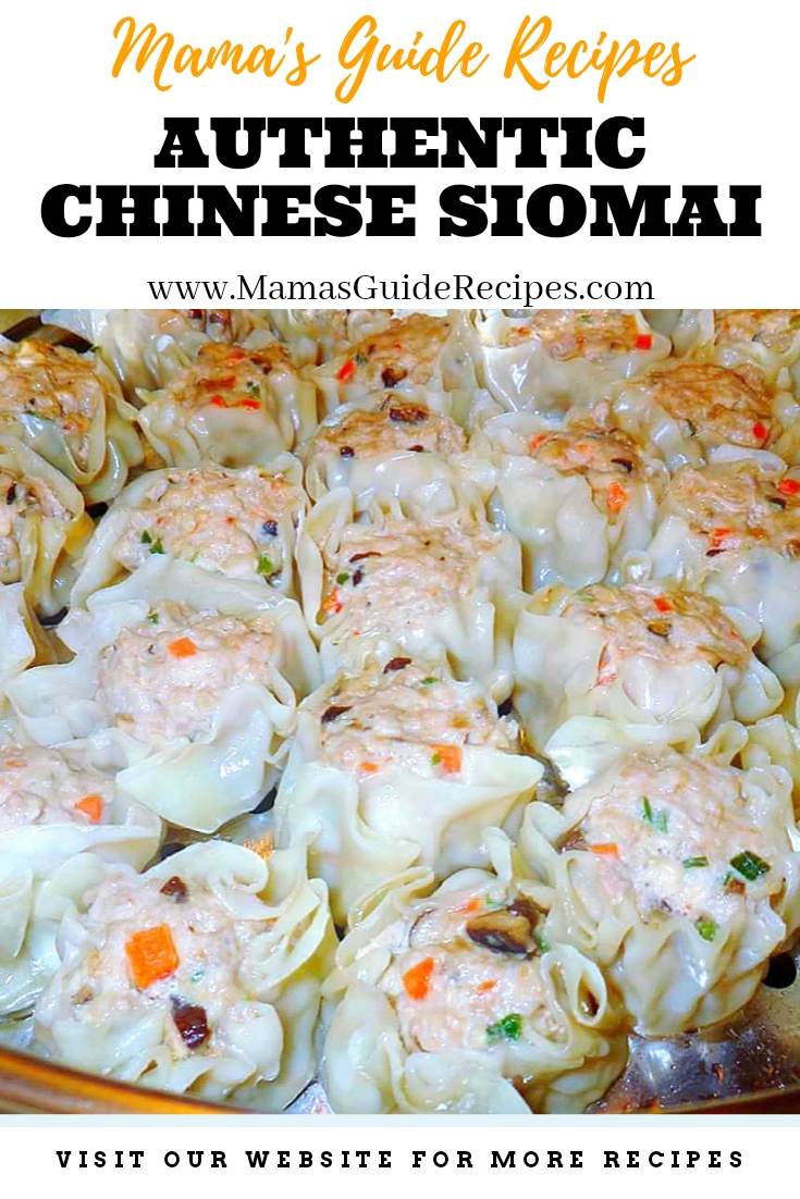Authentic Chinese Siomai