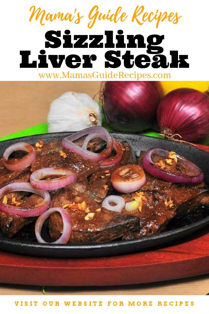 Sizzling Liver Steak Recipe
