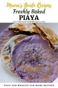 Freshly Baked Piaya Recipe