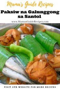 Paksiw na Galunggong sa Santol