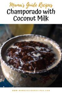 Champorado with Coconut Milk