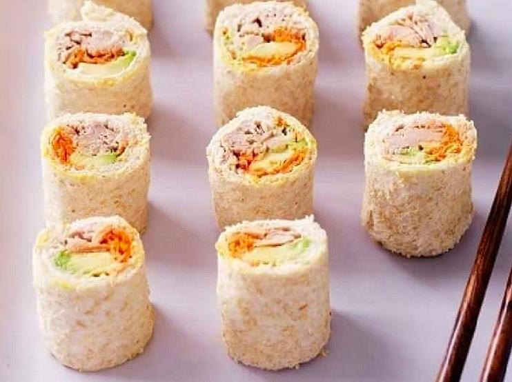 Tuna Sandwich Sushi