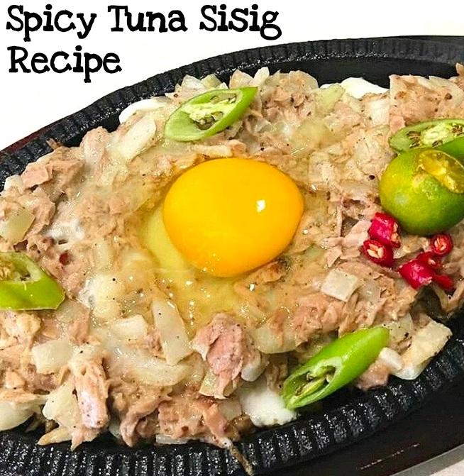 Spicy Tuna Sisig Recipe