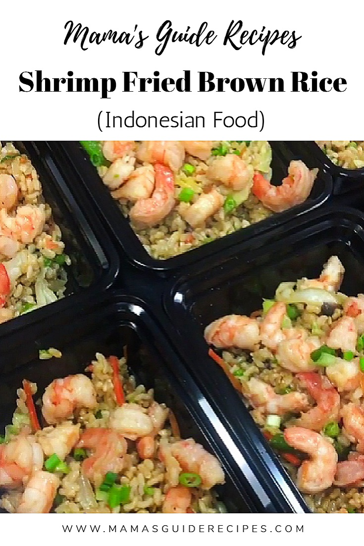 Shrimp Fried Brown Rice (Indonesian)