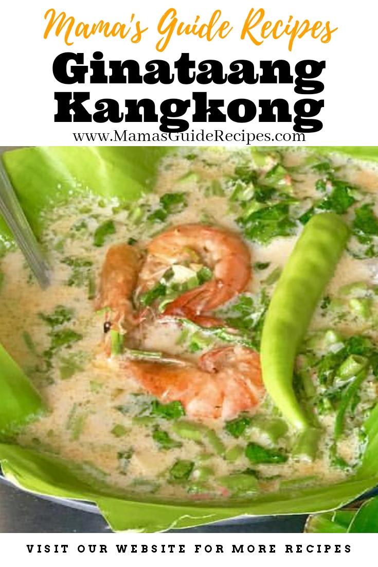 Ginataang Kangkong