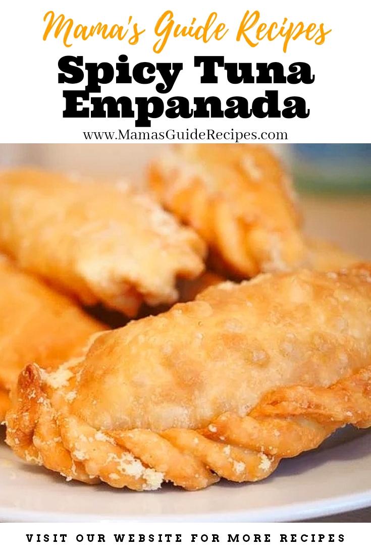 Spicy Tuna Empanada