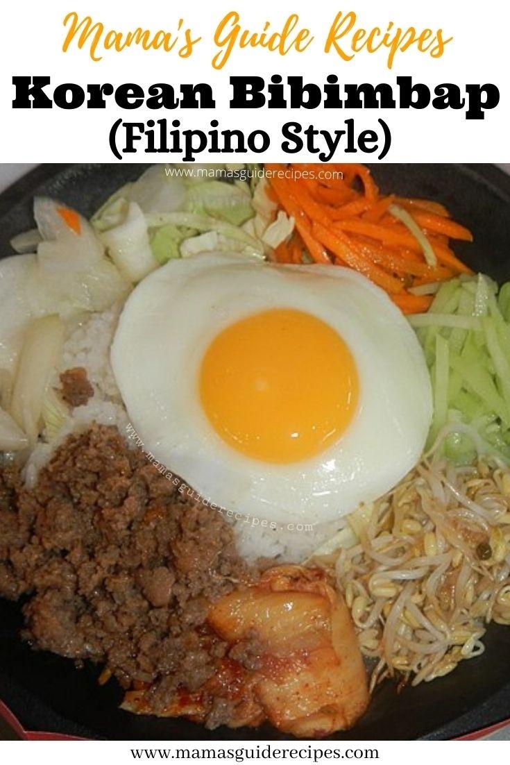 Korean Bibimbap (Filipino Style)