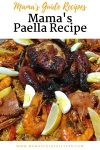Mama's Paella Recipe