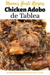 Chicken Adobo de Tablea
