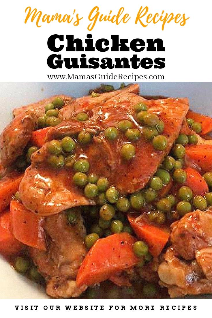 Chicken Guisantes Recipe
