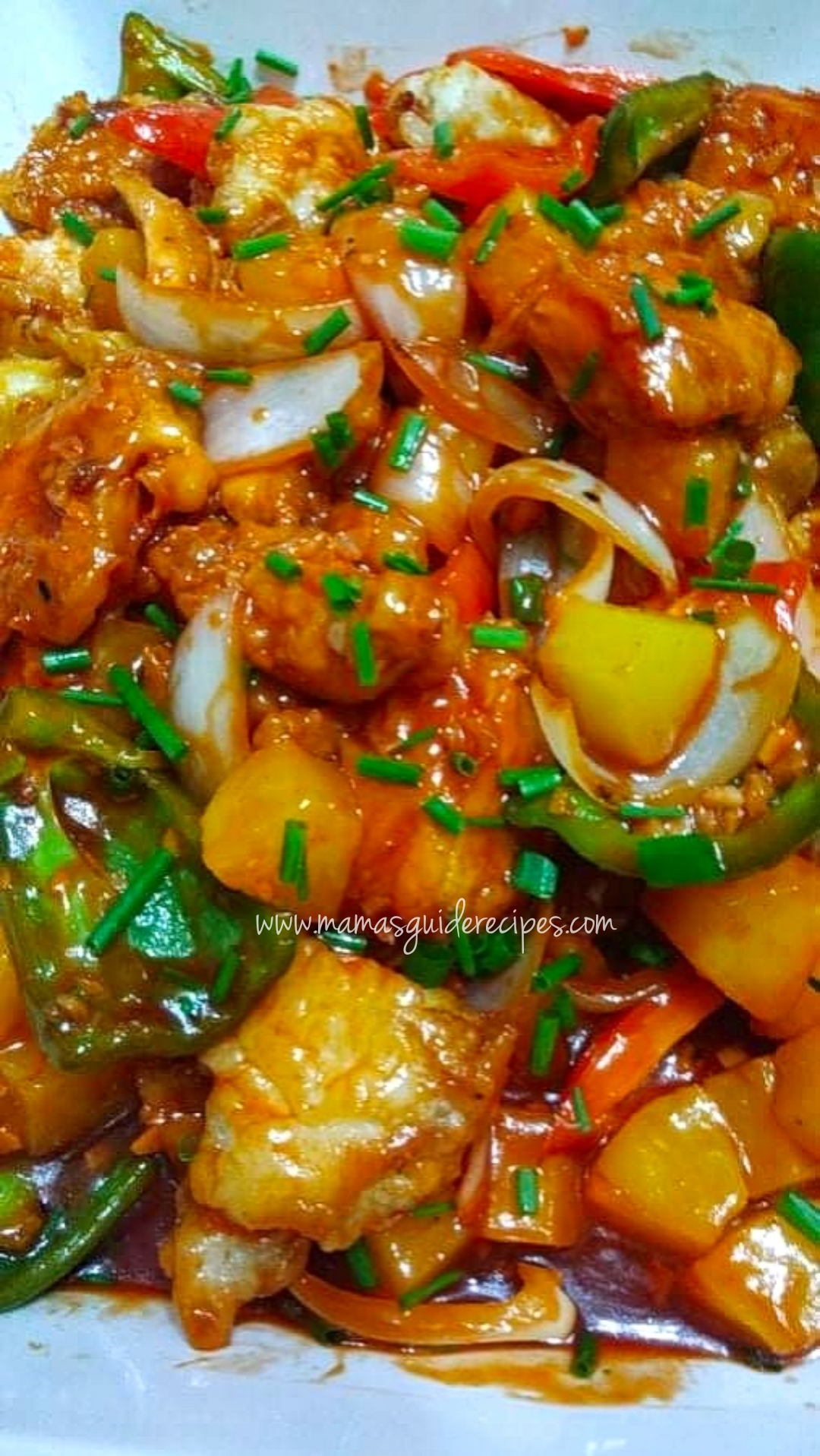 Sweet and Sour Chicken (Chowking Style)