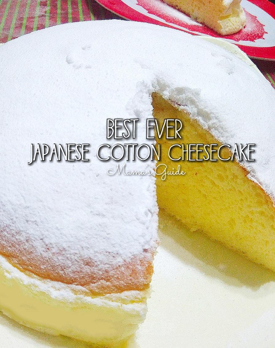 Best Ever Japanese Cotton Cheesecake Recipe