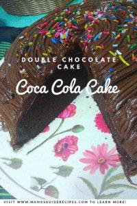 Coca Cola Cake (Double Chocolate Cake)