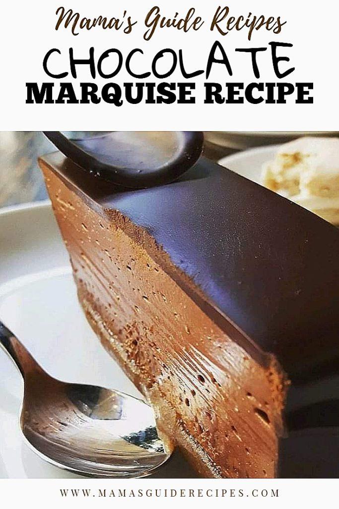 CHOCOLATE MARQUISE RECIPE (Tagalog Version)