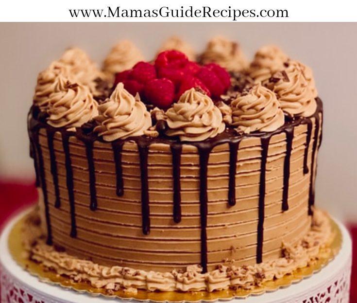 Mocha Cake ala Goldilocks