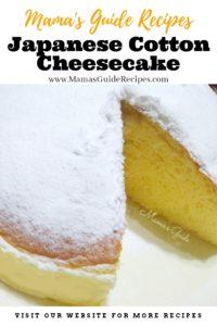 Japanese Cotton Cheesecake
