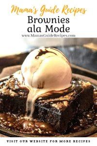 Brownies ala Mode