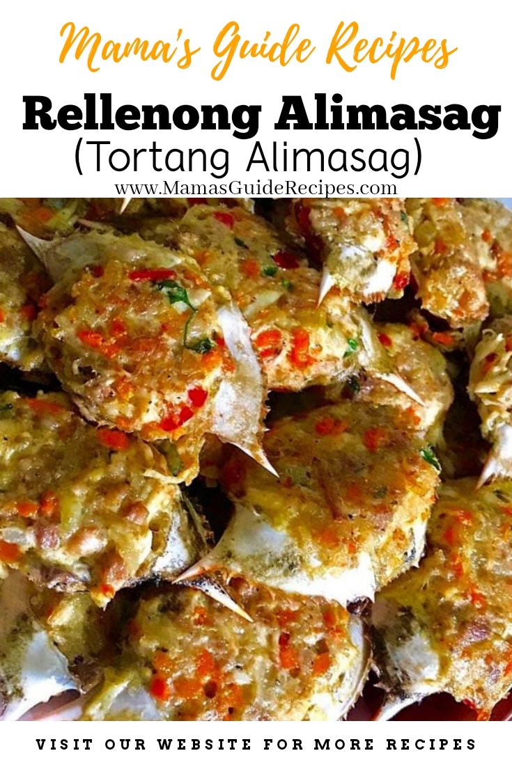 Rellenong Alimasag (Tortang Alimasag)