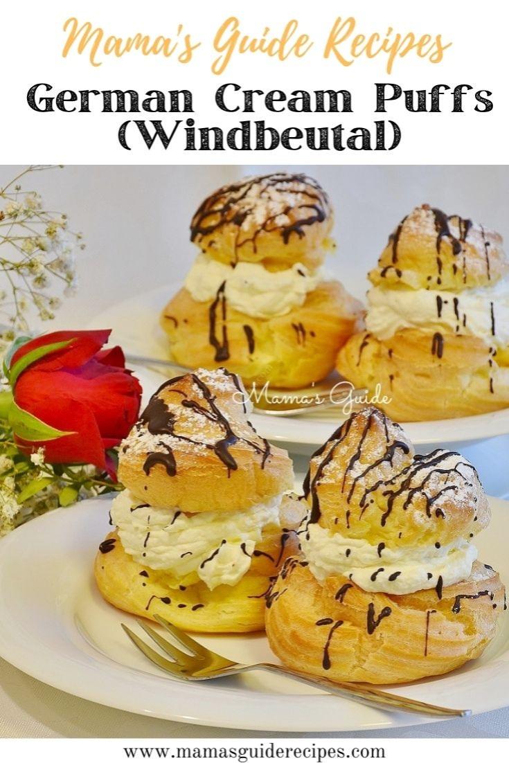 German Cream Puffs (Windbeutal)