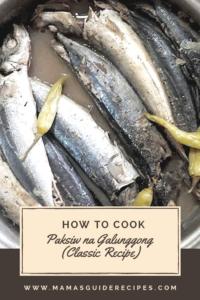 How to Cook Paksiw na Galunggong (Classic Recipe), galunggong recipe, round scad fish, fish cooked in vinegar, paano magluto ng paksiw na galunggong, paano magpaksiw na isda, paksiw na isda recipe, pinaksiw na isda, paksiw, how to cook paksiw,