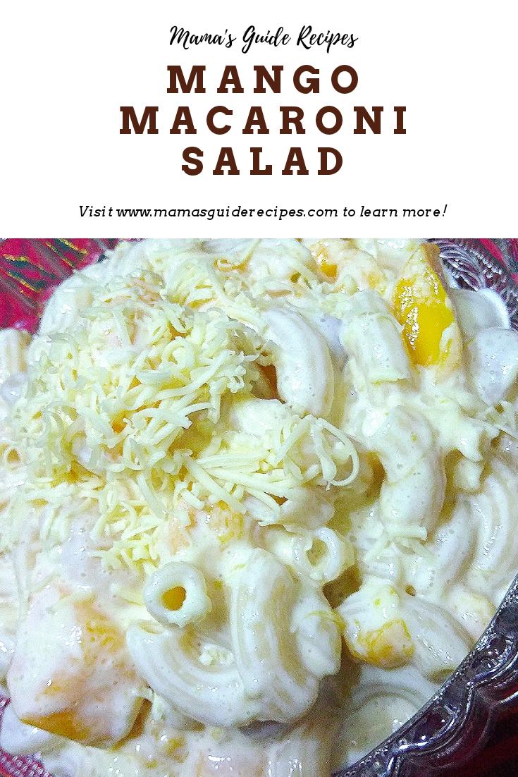Macaroni Salad Recipe Dessert