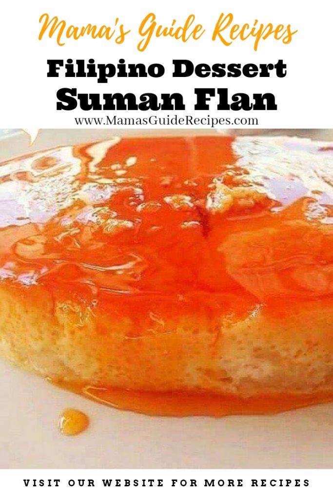 Suman Flan Recipe