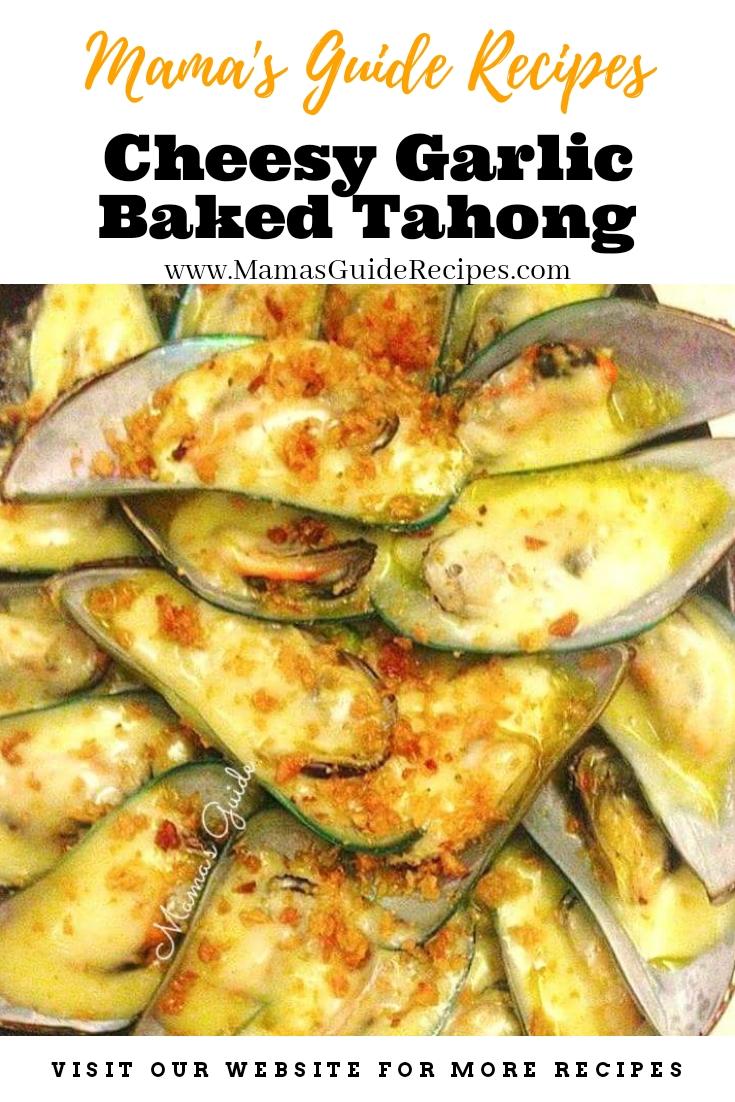 Cheesy Garlic Baked Tahong