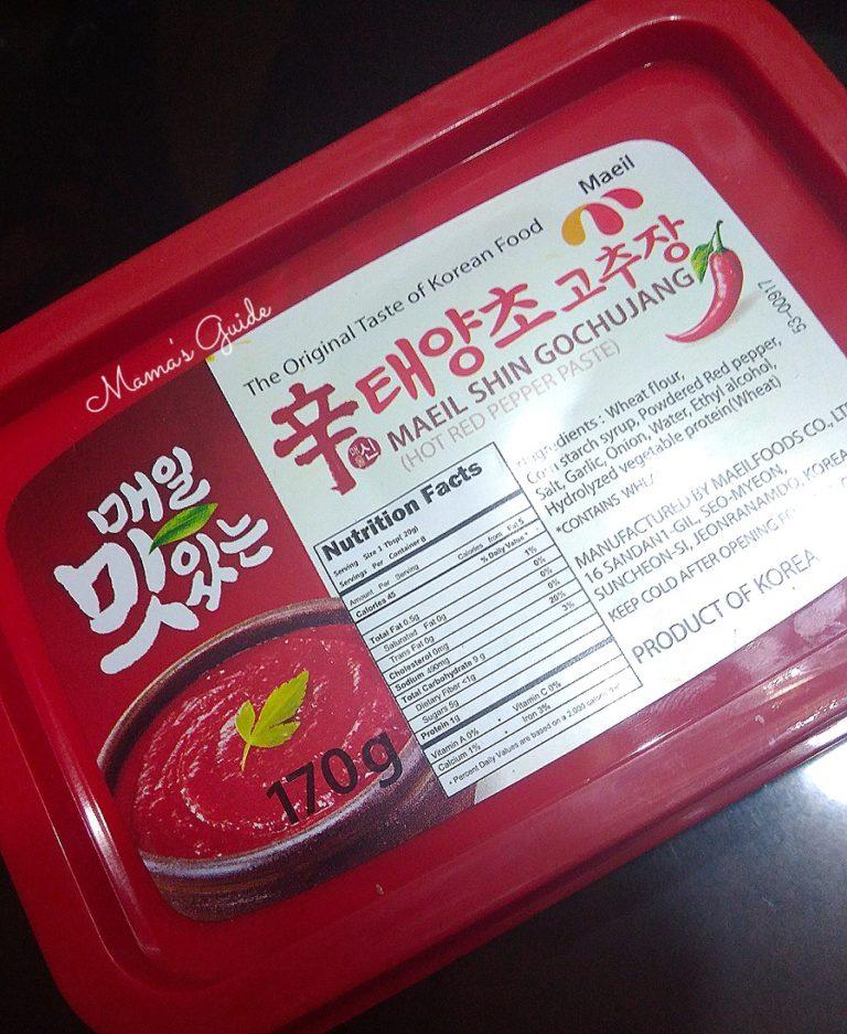 Korean Chili Paste, Gochujang