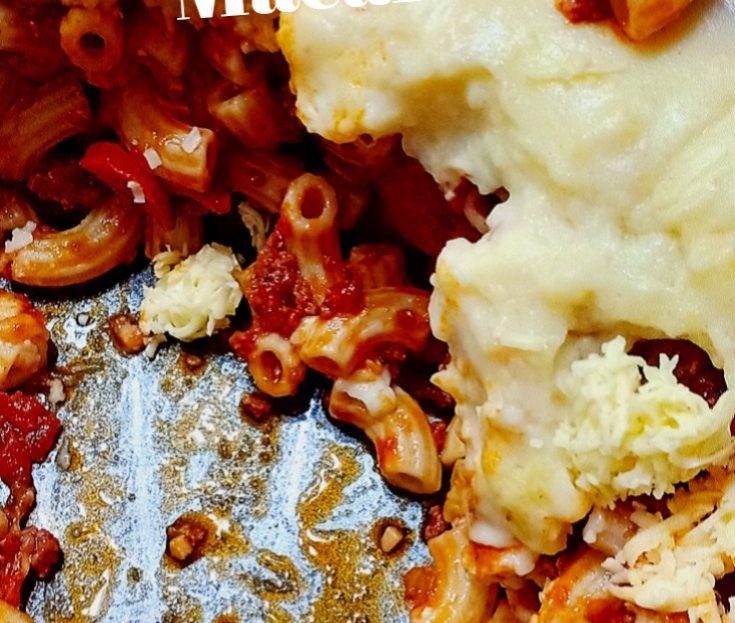 Cheesy Baked Macaroni