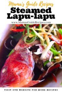 Steamed Lapu lapu Recipe
