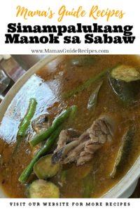 Sinampalukang Manok sa Sabaw