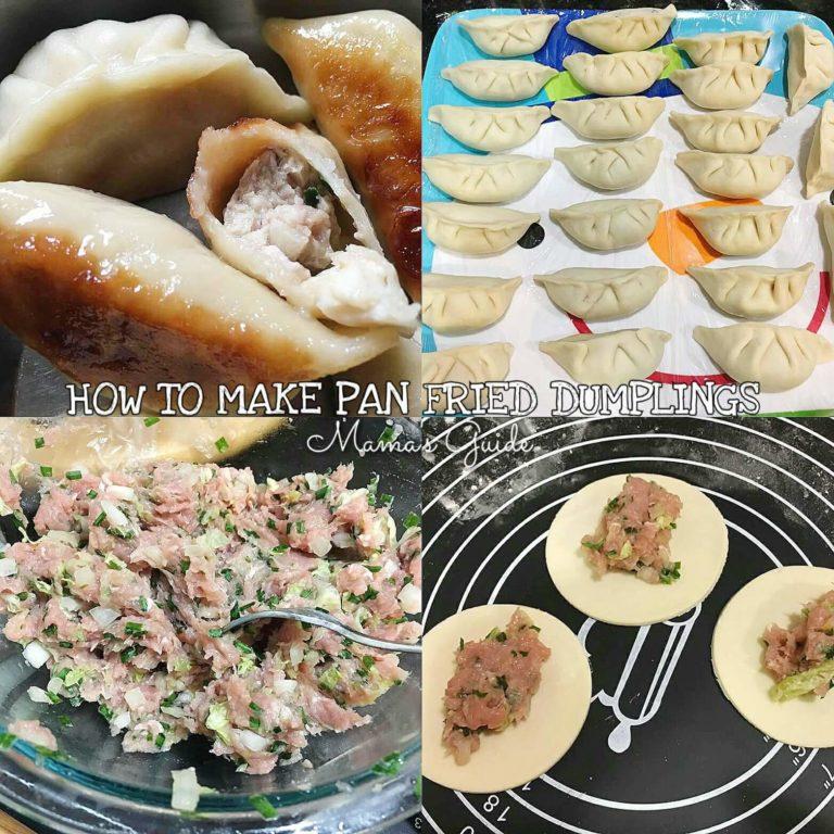 How to make Pan Fried Dumplings