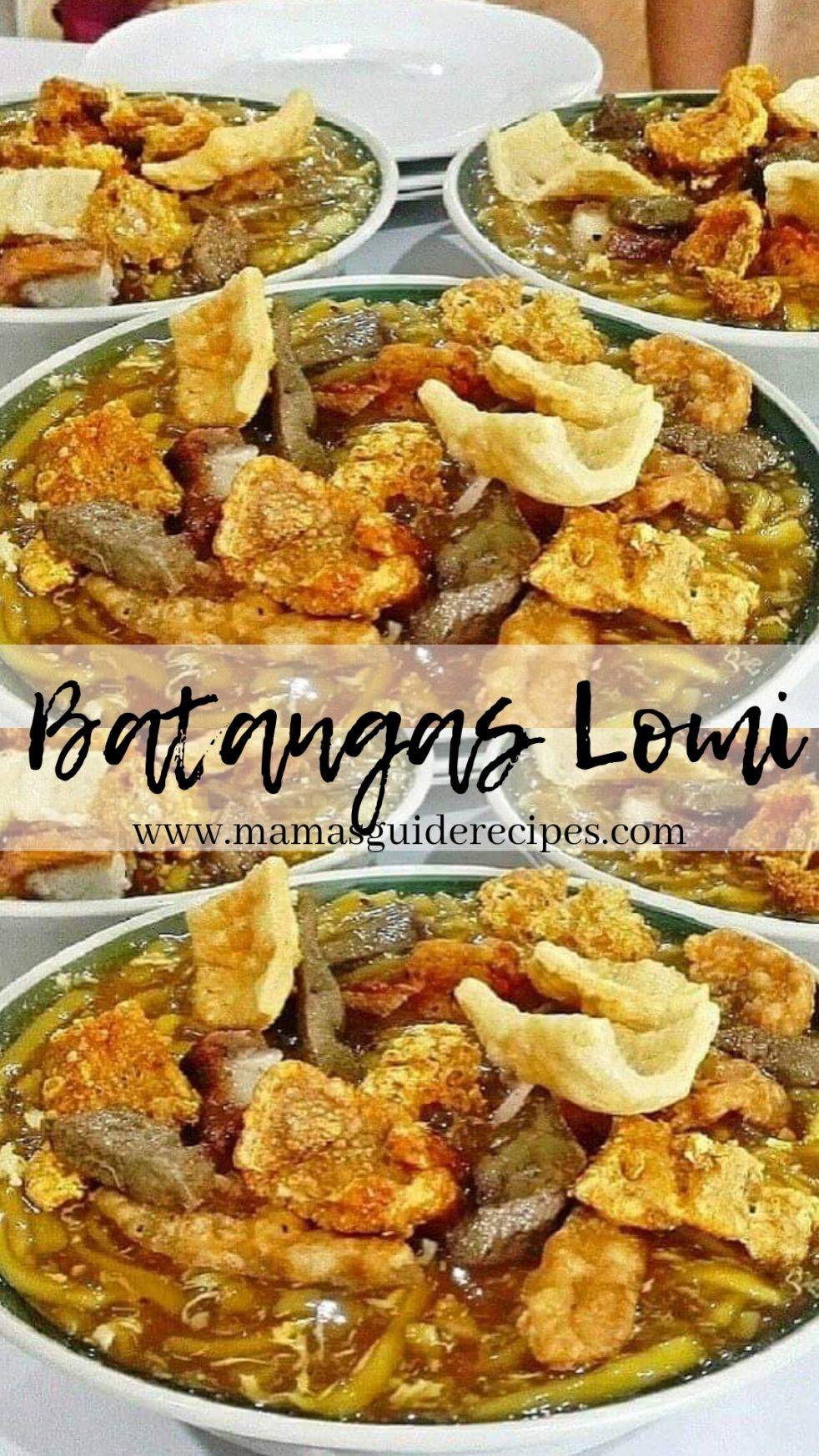 Batangas Lomi