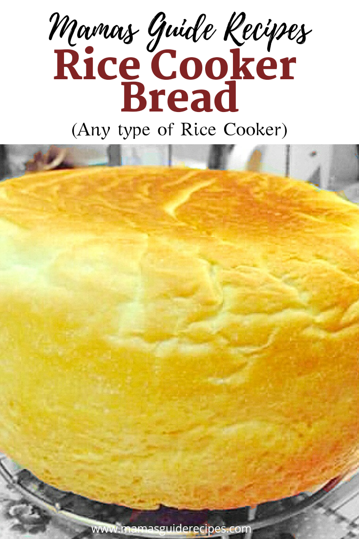 Rice Cooker Bread Recipe (Any type of Rice Cooker)