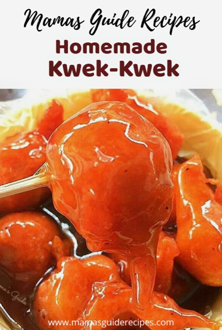 Homemade Kwek Kwek