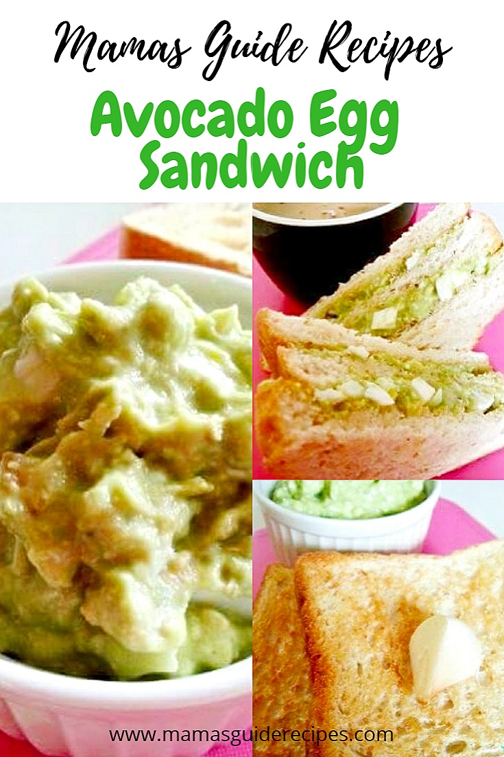 Avocado egg Sandwich recipe