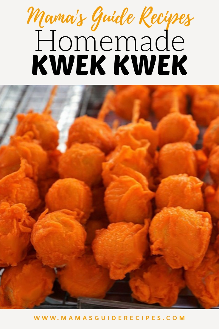Homemade Kwek Kwek