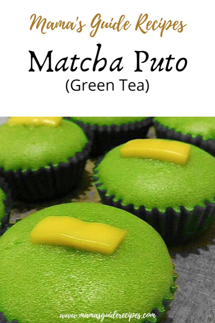 MATCHA PUTO (Green Tea)