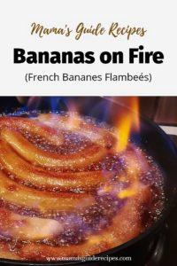 BANANAS ON FIRE