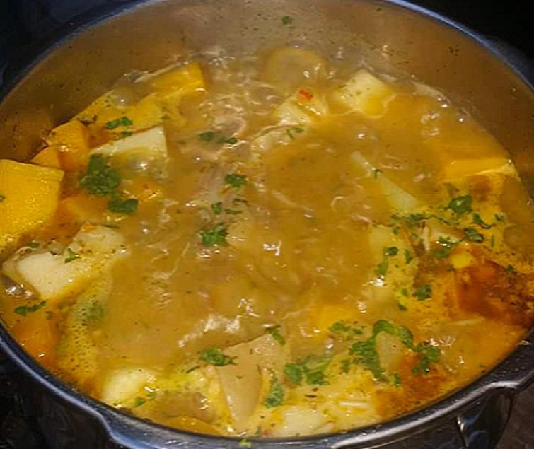 Caldo de Pata (Cow Feet Soup)