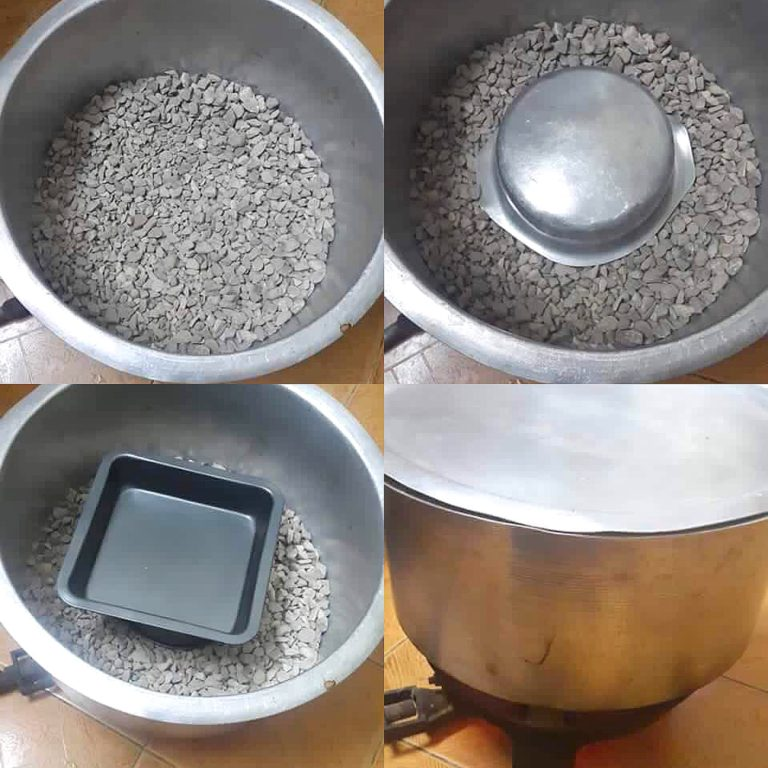 Pot Oven with Stones