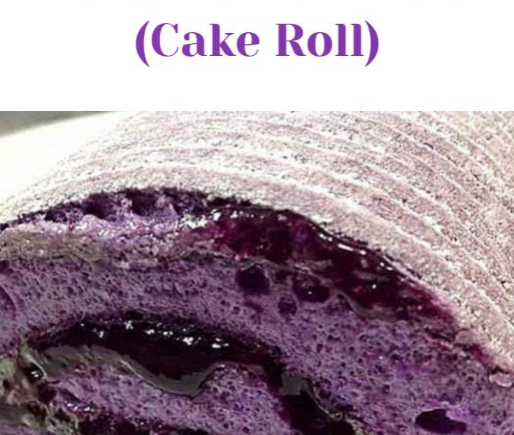BRAZO DE UBE (CAKE ROLL)