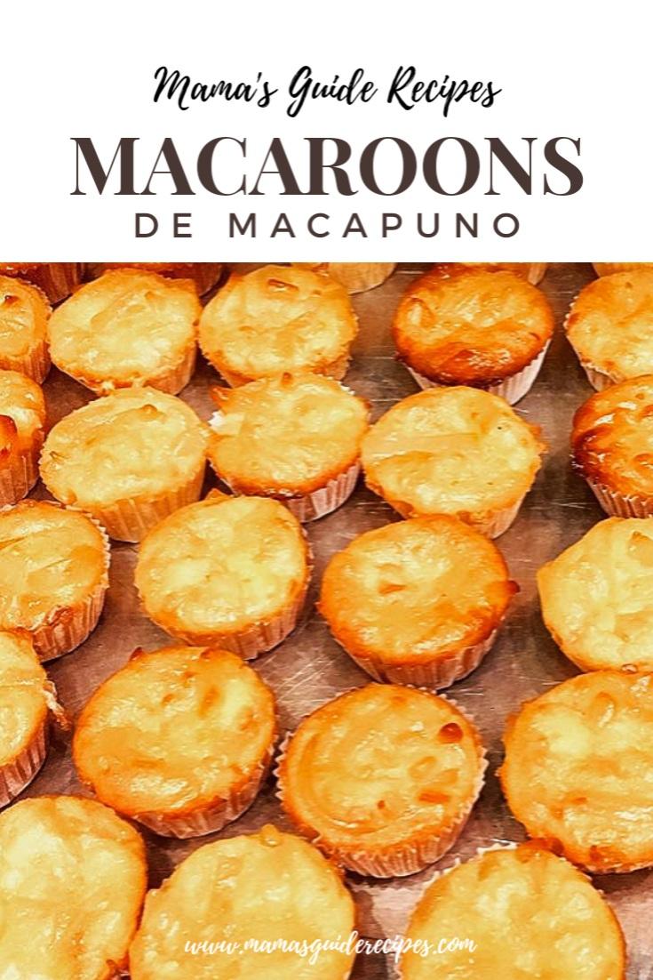 Macaroons de Macapuno