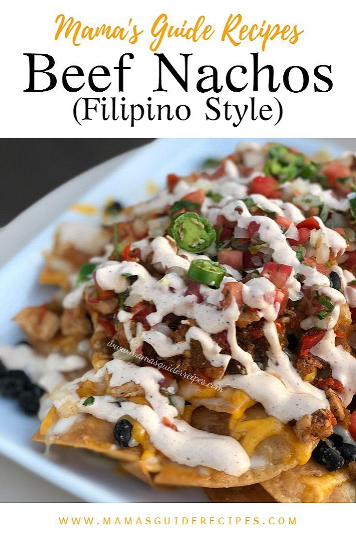 Beef Nachos Filipino Style