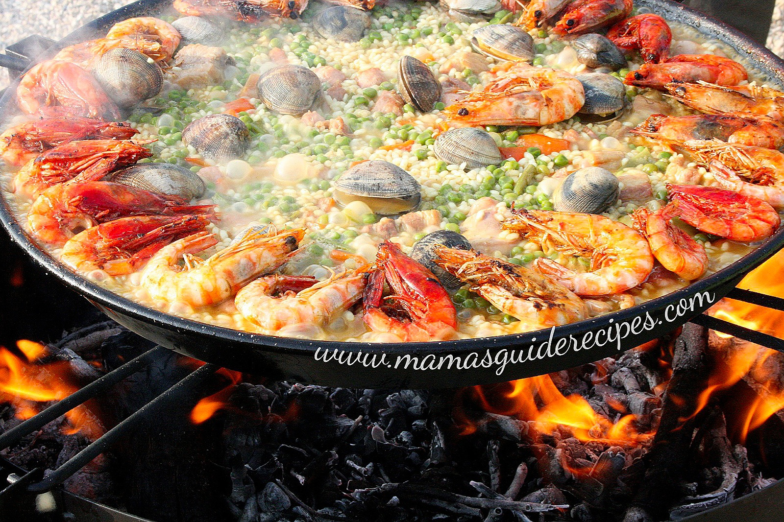 Seafood Paella Valenciana
