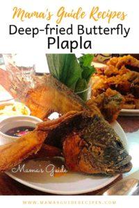 Deep-fried Butterfly Plapla