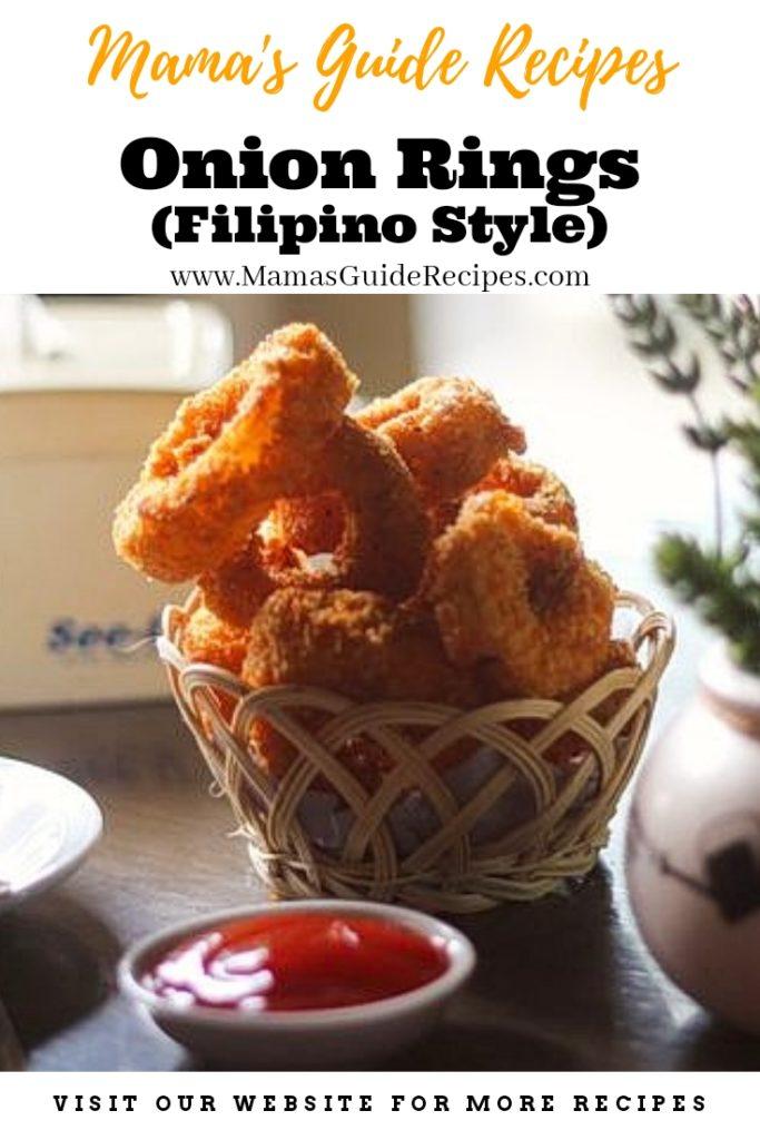 Onion Rings (Filipino Style)