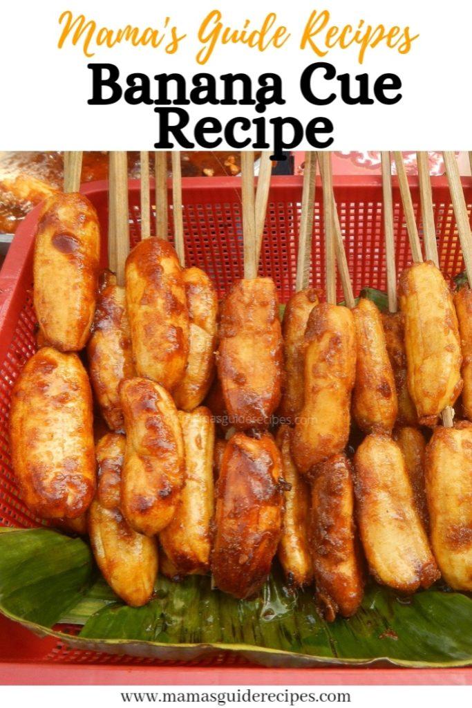 Banana Cue Recipe